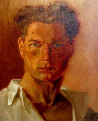 Georges Dobbels   - Self portrait