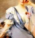Louise De Hem - Self portrait