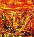 Jacques Pille - Cobra Self portrait