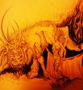 the bull in the fire2