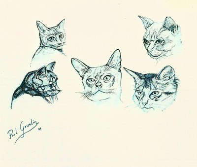 Paul Gosselin - Cats