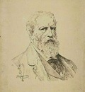 William Bouguereau - Self portrait