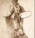 Joseph François Ducq - Self portrait