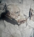 Maurice Langaskens  -  Self portrait