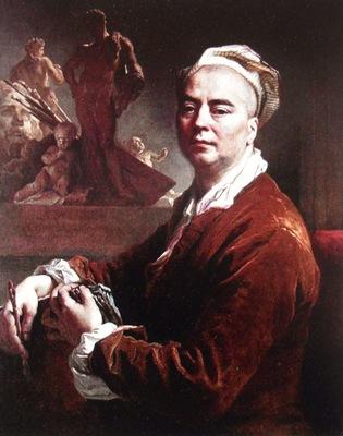 Nicolas de Largillière  -  Self portrait
