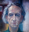 Leo Bervoets  -  Self portrait