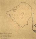 Roger Martin Du Gard  -  Self portrait