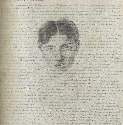 André Breton - Self portrait