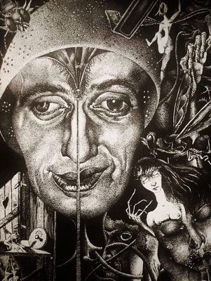 Richard Matouschek - Self portrait