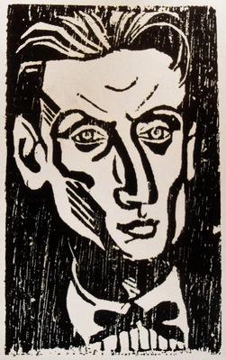 Louis Bouquet Self portrait