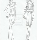 Advanced Fashion Design Portfolio Presentation Outline Only