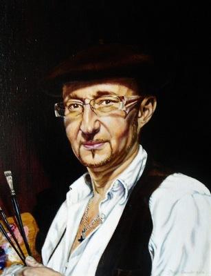 Geert Coucke - Self portrait