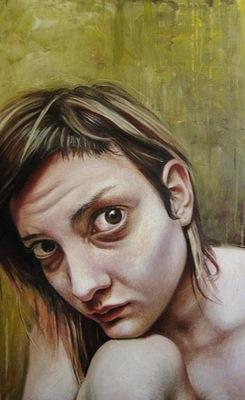 Emma Hopkins - Self portrait