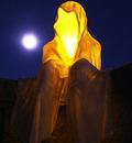 time guardians light ghosts time keepers waechter der zeit contemporary light art sculpture skulptur sculptor bildhauer manfred kielnhofer kunst kultur museum theater