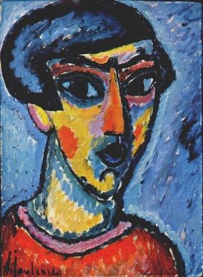 jawlensky head in blue