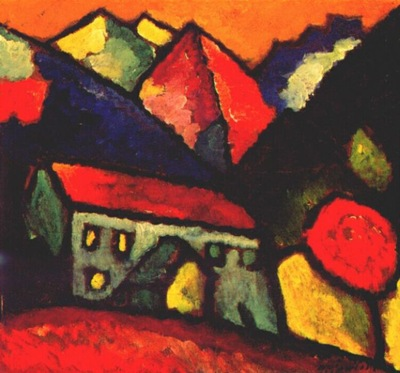 jawlensky house in the mountains c1912