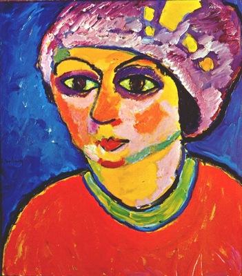 jawlensky the violet turban