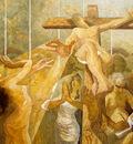 """Leonard PERVIZI, """"INRI"""" 200x250cm, oil on canvas"""