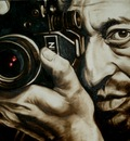 Serge Gainsbourg,Painting by artist Geert Coucke