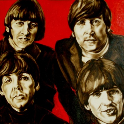 The Beatles ,by Geert Coucke