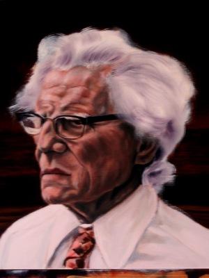Leon Defraeye: Painting by Geert Coucke