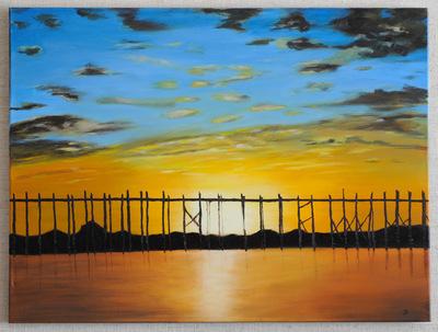 myanmar zonsopgang