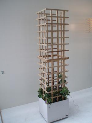 Bloembak ontwerp en realisatie Geert Coucke