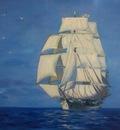 Sailing vessel. Корабль.