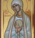 "Catholic icon of the Virgin ""Fatima"""