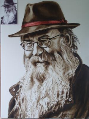 Art friend John by Geert Coucke