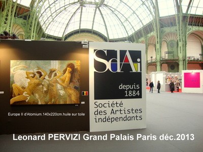 EXPO.GRAND PALAIS DEC.2013.Leonard PERVIZI
