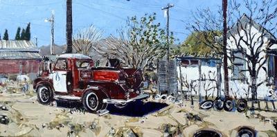 Amina's Firetruck, Beatty, NV, USA