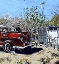 Amina's Firetruck, Beatty, NV, USA