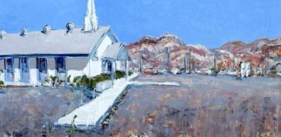 Beatty Baptist Church, Beatty, NV, USA