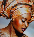Donna di Dakar-Senegal