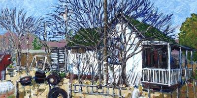 Amina's Yard, Beatty, NV, USA