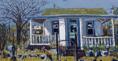 Study for Amina's Yard 6, Beatty, NV, USA