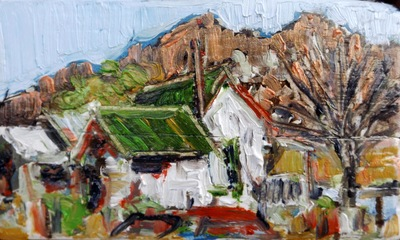 Study for Amina's House 8, Beatty, NV, USA
