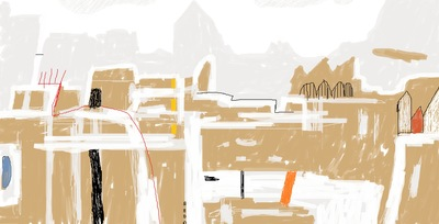 The P city