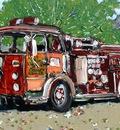 Firetruck II, Beatty Historical Museum, Beatty, NV, USA