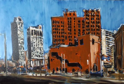 Downtown, Detroit, MI, USA