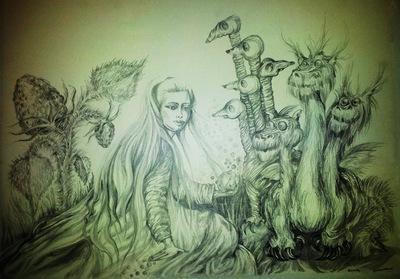 secret garden - she and dragon