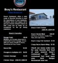 Boxy's Restaurant - fast food open near me