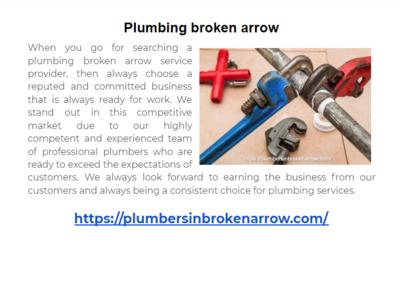 Plumbing broken arrow