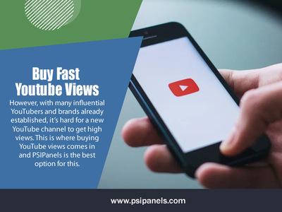 Buy Fast Youtube Views