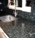 Green pearl granite