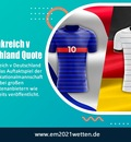 Frankreich v Deutschland Quote
