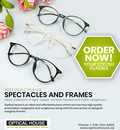 Best slection of spectacles and frames latest collection of light-weight, durrable, flexible and stylish eyeglasses Frames in Kitchener