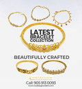 Shop for the best gold bracelets in Brampton