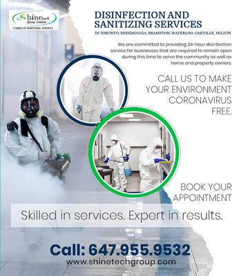 Disinfection and Sanitization for Home